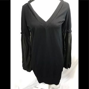 Young Fabulous And Broke Hooded Sweater Dress Sz M